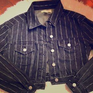 PacSun Black Denim Jacket